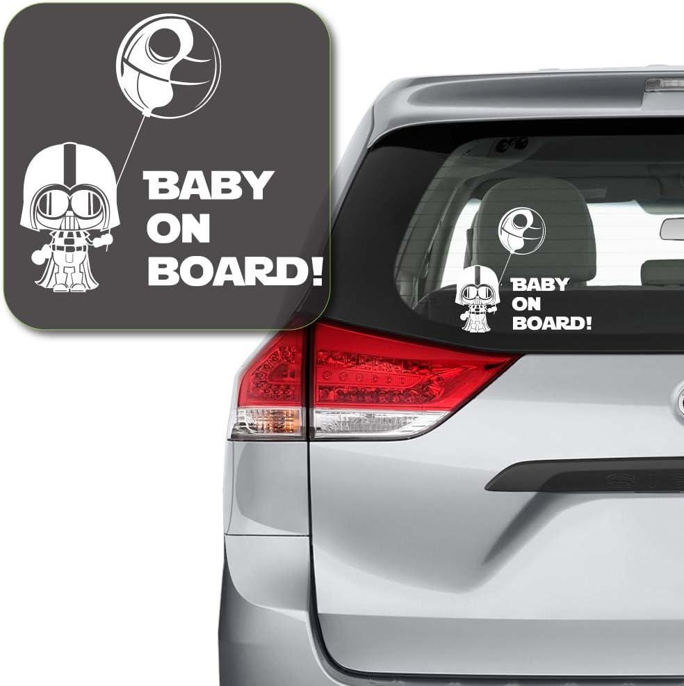 Goku Baby on Board Vinyl Decal Car Bumper Laptop Sticker