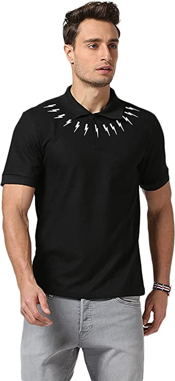 Sportides Mens Leisure Pocket Polo Shirt Short Sleeve T-Shirt Tops JZA026 White M SlCB0FNZ5