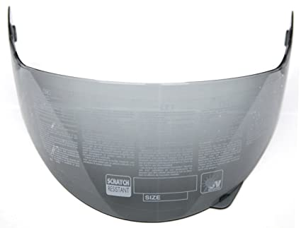 YEMA Helmet Visor Face Shield for YM-829 and YM-831, Smoked