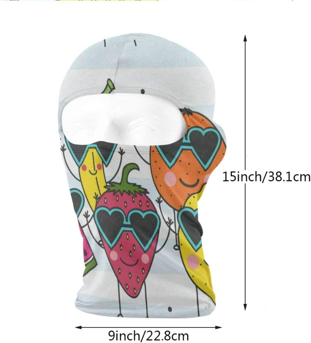 IDO Hipster Cat Kitten Floral Full Face Masks UV Balaclava Protection Ski Headwear Motorcycle Neck Warmer Youth Women Men
