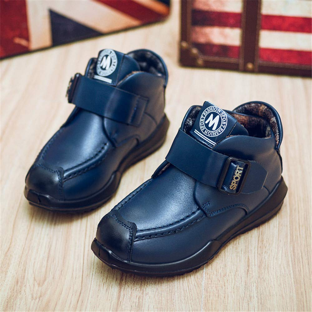 FORTUN Kids Booties Boys and Girls Martin Boots Casual Boots Walking Shoes