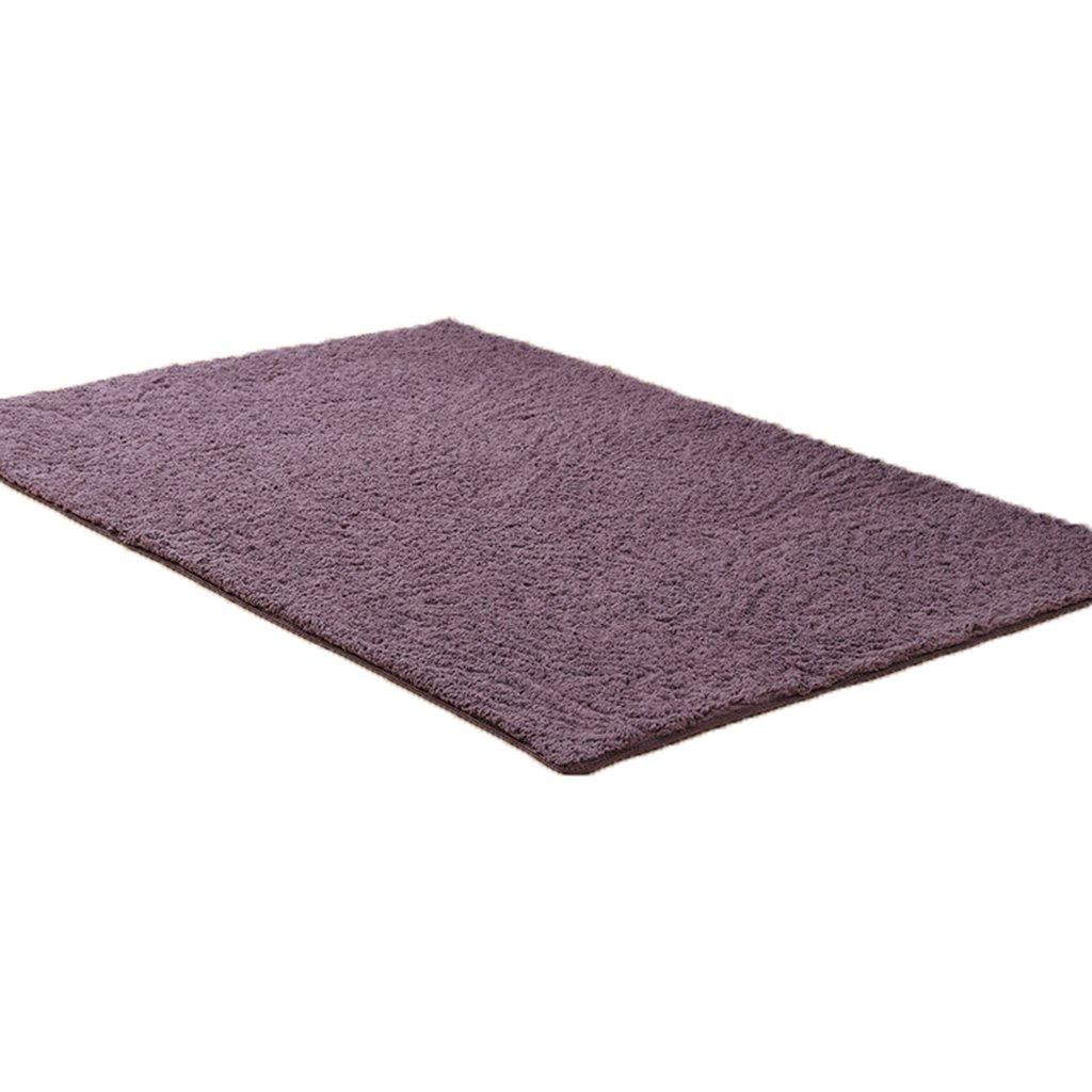 GYP シンプルなリビングルームカーペットコーヒーテーブルベッドルームフルショップベッドサイドブランケット長方形吸水ノンスリップマットカーペットのドアマット ( 色 : G g , サイズ さいず : 120*160CM )   B07B9T2HXC