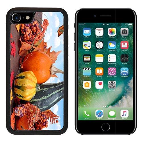 Luxlady Premium Apple iPhone 7 Aluminum Backplate Bumper Snap Case iPhone7 IMAGE ID: 22562608 Harvested (Halloween Garnish Food)