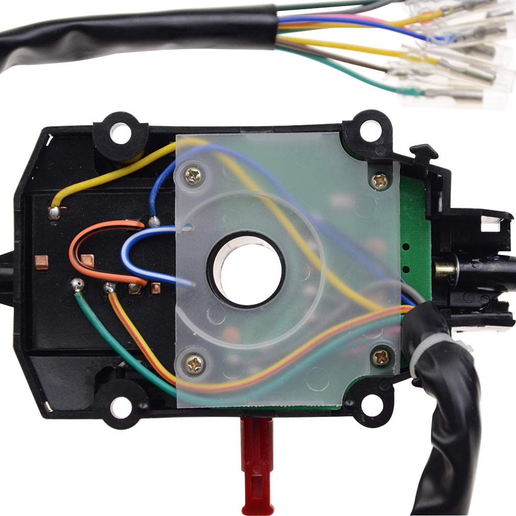 WOOSRAR Controlling Horn Switch Hi-Low Beam Switch Turn Signals Switch Assembly Replacement for Hisun Hs700 UTV