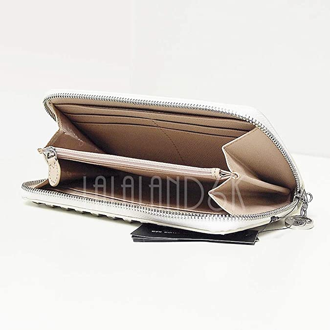 Amazon.com: DKNY slgs brillante Saffiano portafolios de piel ...