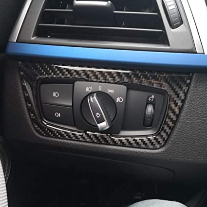 Accessories For BMW 3 Series F30 320i 2013-2018 Headlight Switch Button Trim Kit