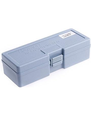 JAGETRADE Medidor de refractómetro de salinidad Lector de Agua Marina 0~10% Probador de