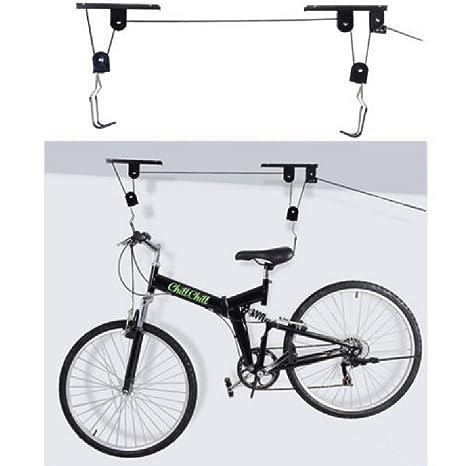 Ceiling Bike Rack >> Amazon Com Bike Bicycle Ceiling Mounted Hoist Storage Garage