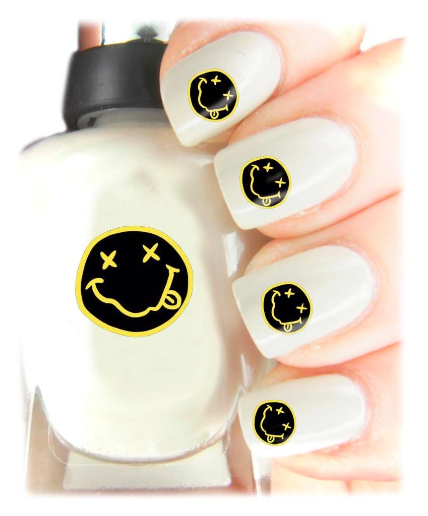 Easy to use, High Quality Nail Art Decal Stickers For Every Occasion! Ideal Christmas Present / Gift - Great Stocking Filler Nirvana SNAD