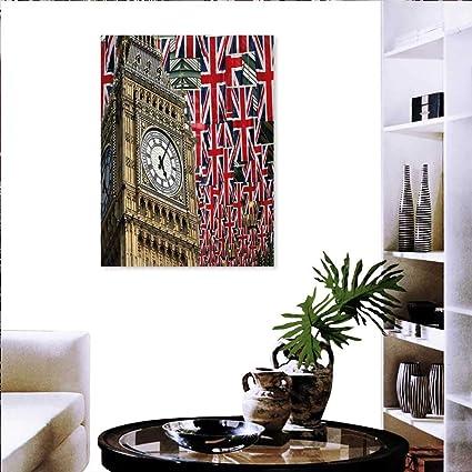 Amazon Com Warm Family Union Jack Artwork Wall Decor Uk Flags