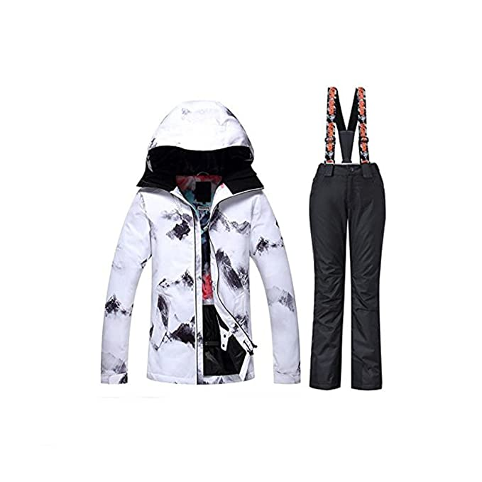 Amazon.com: GS Snowing nuevo invierno mujer impermeable ...