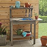 Better Homes and Gardens Cane Bay Outdoor Potting Bench