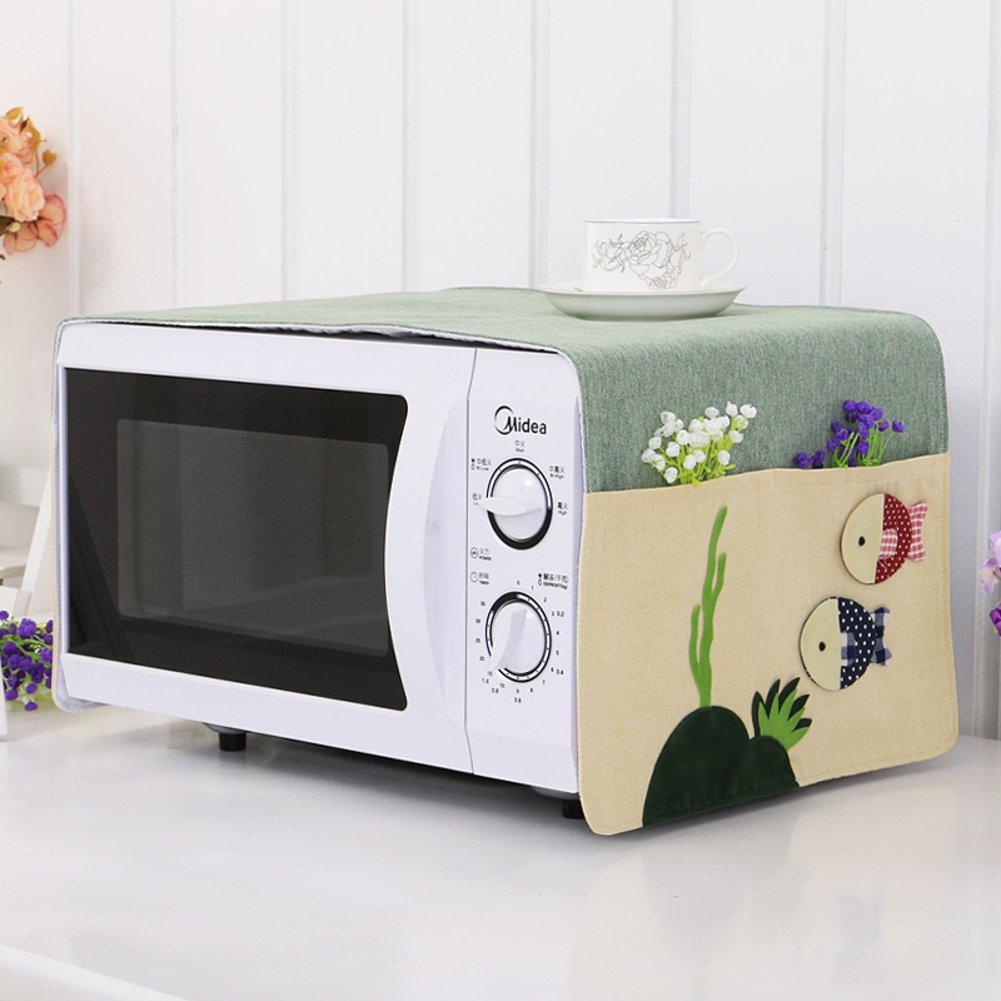 Cubierta del horno microondas cubierta a prueba de polvo ...