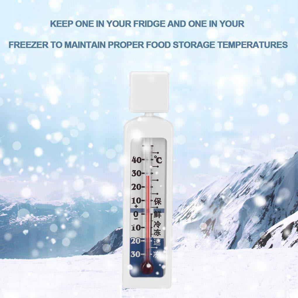 Rekkles Meter termometro del congelatore di Gauge Tradizionale Temperatura Kitchen Shelf Hanging Frigo Temperatura