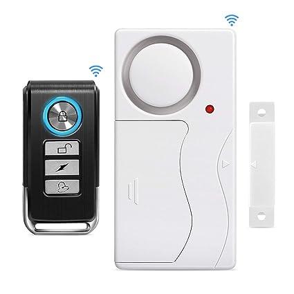 Yblntek - Alarma de Seguridad inalámbrica para Puerta ...