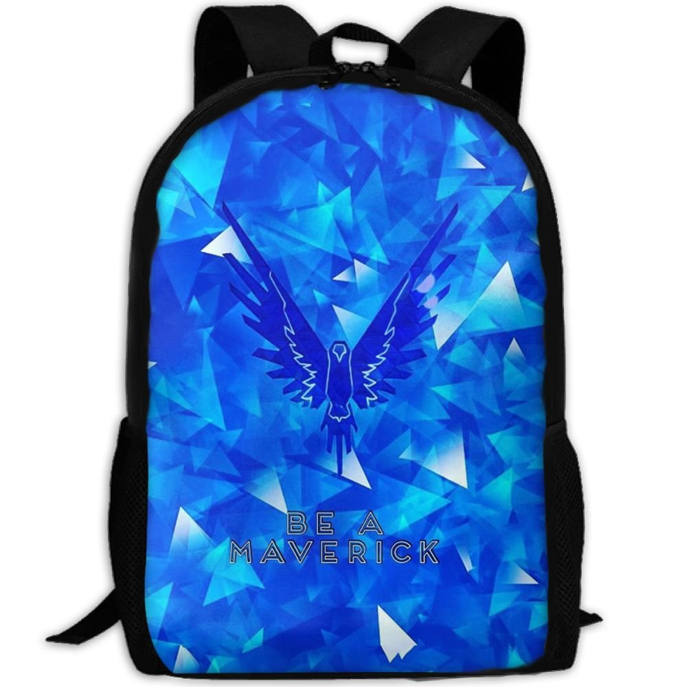 be166df2e hot sale MKKR2 Blue Logan-paul-Maverick 3D Adult Outdoor Leisure Sports  Backpack And