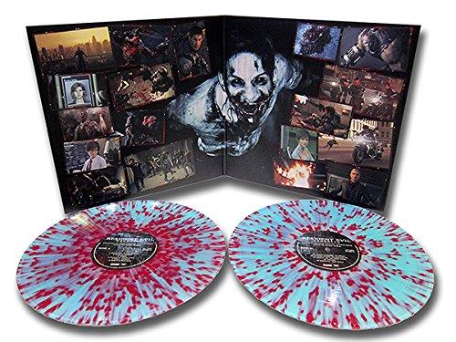 Resident Evil: Vendetta - Original Motion Picture Soundtrack Double LP Teal/ Purple Splatter by Spacelab9