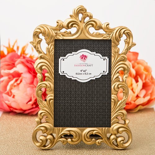 Baroque gold metallic frame from gifts by fashioncraft by Fashioncraft