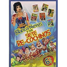BLANCA NIEVES Y SUS SIETE RE-COCHINOS 6PACK:MODELO DE DESNUDOS/LOS RATEROS/EL REYDE LA FICHERAS/DANDO Y DANDO PAJARITO VOLANDO/MUNECAS DE MEDIANOCHE/EL VAMPIRO TEPOROCHO