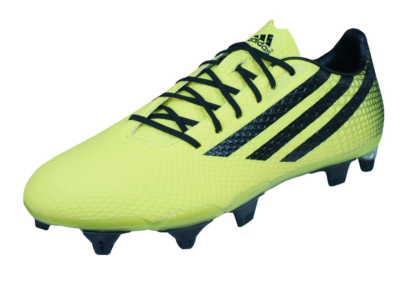 adidas Crazyquick Malice SG Mens Rugby Boots-Yellow-8
