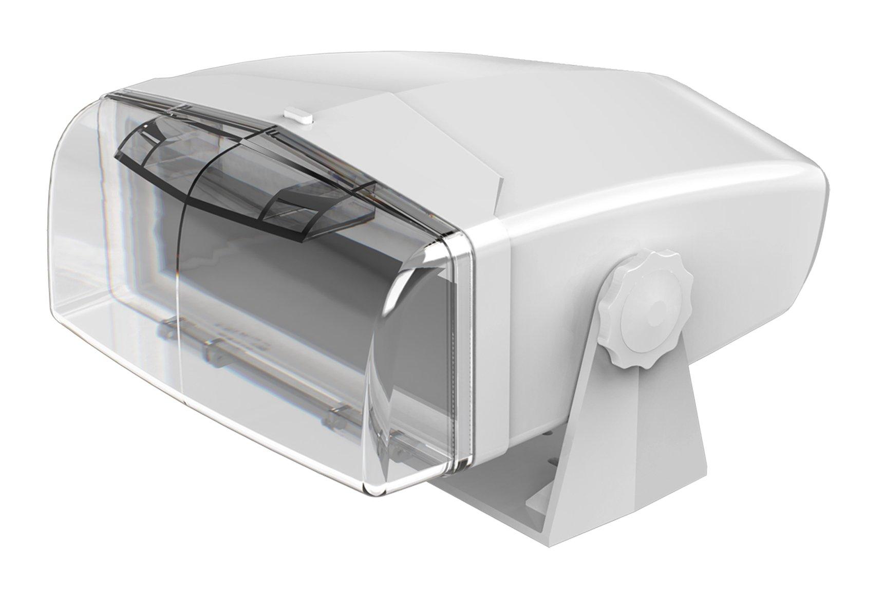 Dual Electronics MH200 Transparent Marine Waterproof Radio Housing Unit Single DIN by Dual Electronics