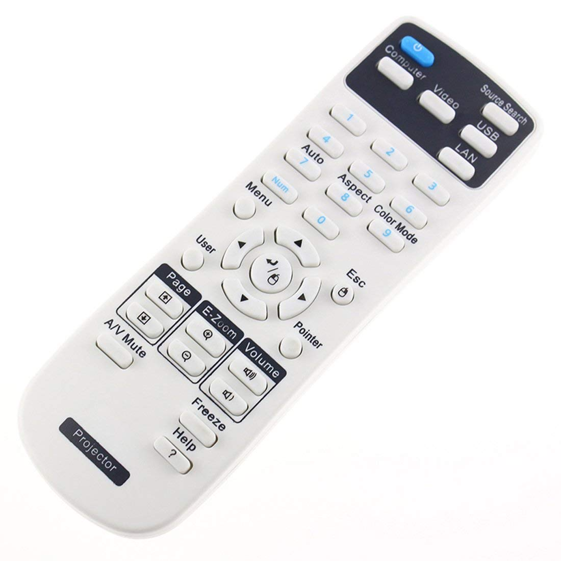 Aimple 1626366 - Mando a Distancia de Repuesto para proyectores ...