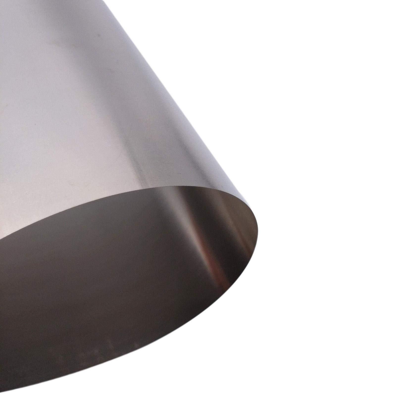 0.1mm x 200mm x 300mm Titanium Foil Plate Sheet TA2 99% Purity by Yodaoke