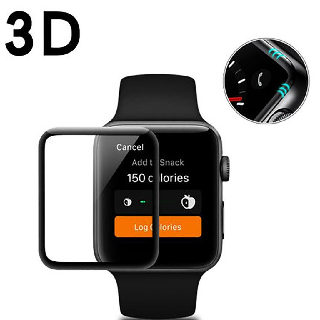 For Apple Watch Series 1/2/3 38mm 42mm Screen Protector Sinfu Replacement Full Screen Accessory (42mm) by Sinfu® (Image #9)