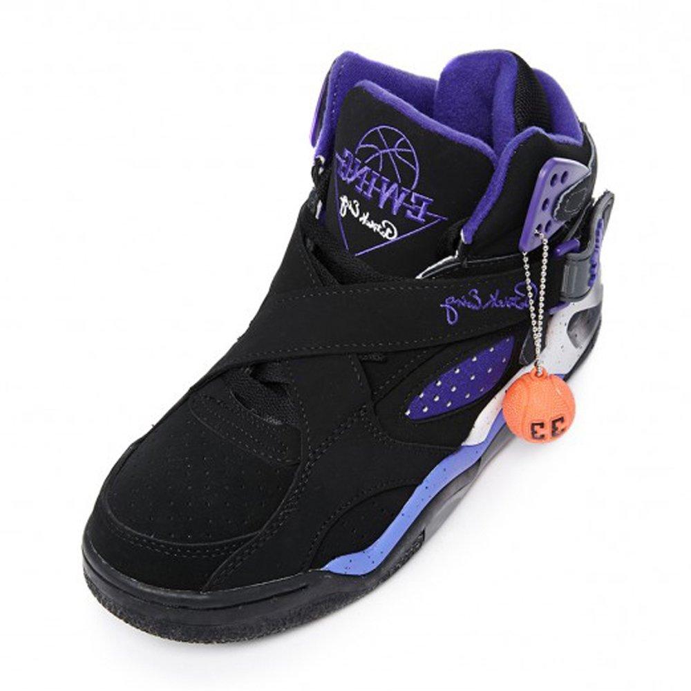 Patrick Ewing - Zapatillas para niña Black Purple: Amazon.es: Zapatos y complementos