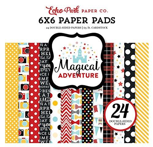 Echo Park Paper Company MA109023 Magical Adventure 6x6 Paper Pad (6x6 Paper Pad Scrapbook)