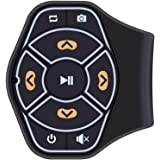 ALLOMN ハンドルリモコン Bluetooth マルチメディアリモコン ステアリングリモコン