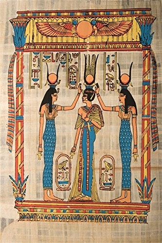 OFILA Egyptian Backdrop 3x5ft Queen Ancient Mural Wall Painting History Culture Interior Wallpaper Party Event Decoration Mysterious Artistic Style Adult Photos Digital Video Studio Props