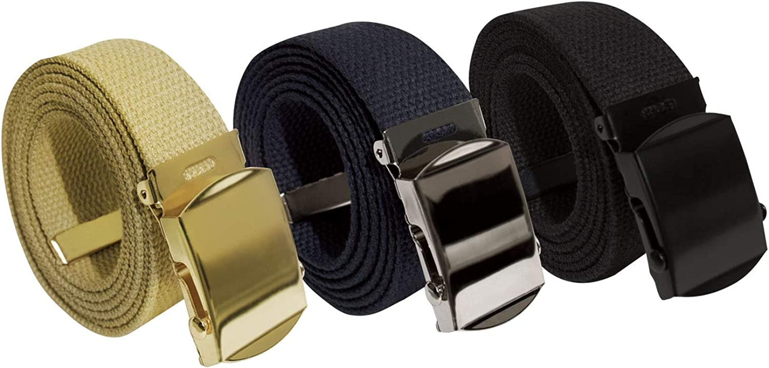 54 Rothco Military Web Belts 3 Pack