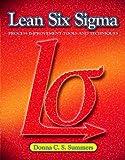 Lean Six Sigma 9780135125106