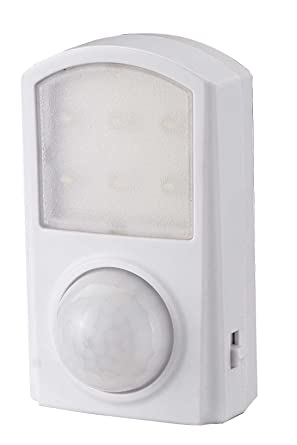 GAO EMN400PIR - Luz nocturna (con sensor de movimiento, funcionamiento con batería)