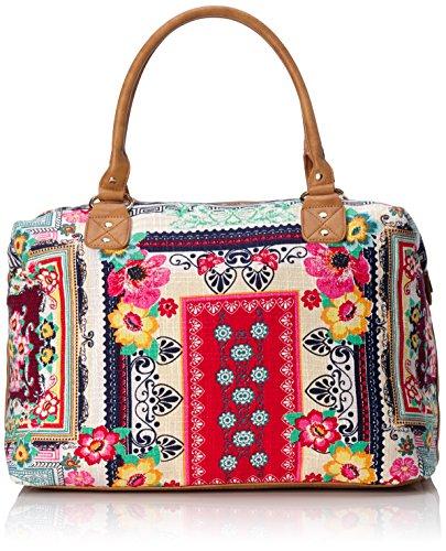 Main x x multiflower 43x32x20 B Sacs Rieker Multicolore H cm Femme H1366 T Portés Mehrfarbig 90 6pnw7tgq