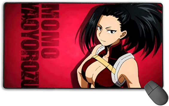 Curtis J Donofrio Demon Slayer-Zenitsu Agatsuma Manga Anime Mouse Pad Soft Gaming Mouse Pad Non-Slip Rubber Base Mouse Mat Large Laptop for Computers 30 X 15.7 Office /& Home