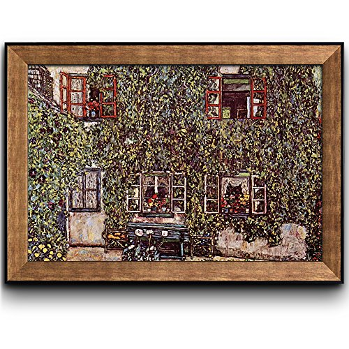 Forsthaus in Weissenbach II 1914 by Gustav Klimt Framed Art