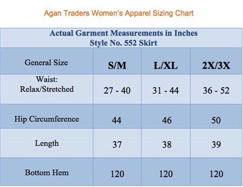 Agan Traders 552 Sk Dancing Gypsy Medieval Renaissance Vintage Skirt (L/XL, H Green) by Agan Traders (Image #4)