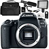 Canon EOS 77D DSLR Camera (Body Only) 9PC Accessory Bundle – Includes 32GB SD Memory Card + MORE - International Version (No Warranty)