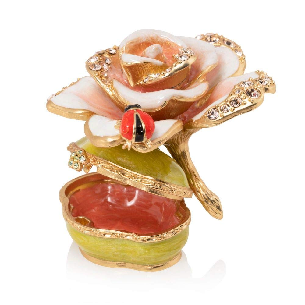 Jay Strongwater Diana Rose Box by Jay Strongwater (Image #2)