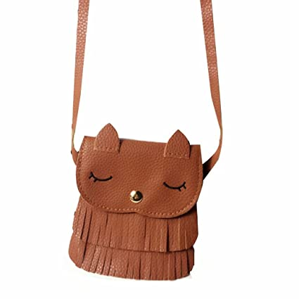 83ec0cb6f4d2 Xhenry Little Girls Purses Pink Cute Cat Shoulder Crossbody Bag for  Kids,Toddler,Girls Cute Cat Ear Shoulder Bag Small Messenger Bag Cute  Animal Bag ...