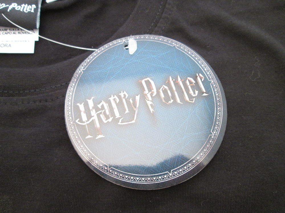 Felpa Originale Harry Potter Lumos Maxima Ufficiale Warner Bros Cappuccio e Tasche