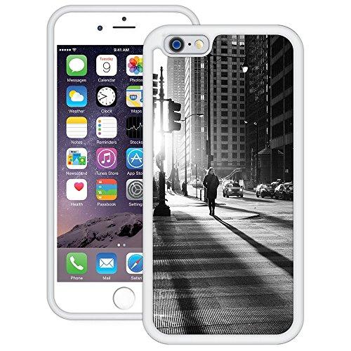 Stadtlicht | Handgefertigt | iPhone 6 6s (4,7') | Weiß Hülle