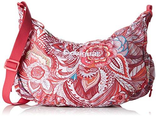 Desigual Bols Damen Schultertasche 14x20x40 cm (B x H x T), Rot (3192 ROUGE RED)
