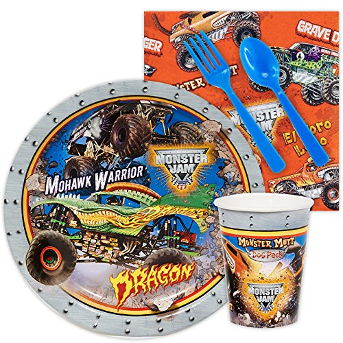 BirthdayExpress Monster Jam Party Supplies - Snack Party