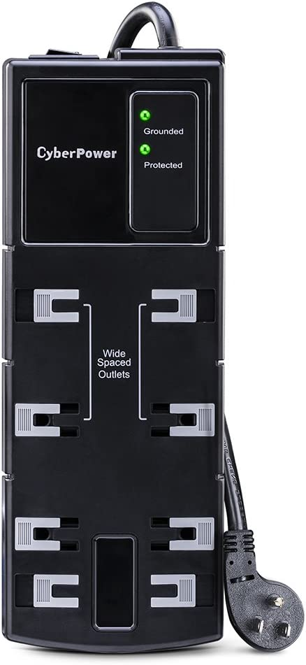 CyberPower CSB808 Essential Surge Protector