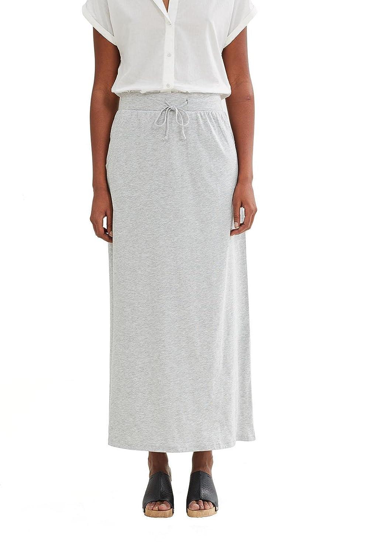 edc by Esprit 997cc1d801, Falda para Mujer, Gris (Light Grey) 38 ...