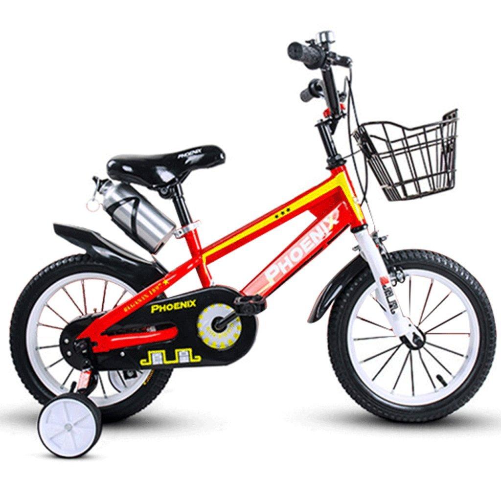 DGF 子供の自転車の男の子のベビーカー2-12歳の少女のサイクリング子供の自転車屋外マウンテンバイク (色 : A, サイズ さいず : 14 inches) B07F3Z1X8H 14 inches|A A 14 inches