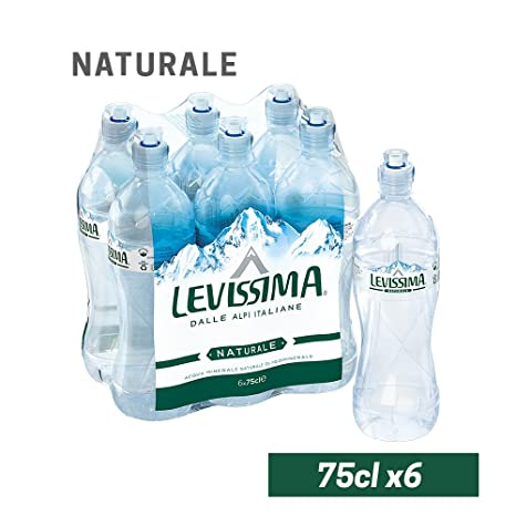 Acqua levissima naturale 6 bottiglie da 75 cl (1000034910)